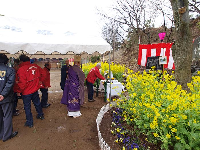 忠犬タマ公慰霊祭