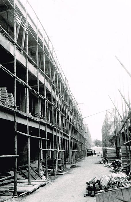 仲通り建設現場(01)S.42年