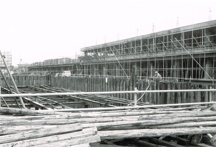 仲通り建設現場(02)S.42年
